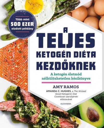 Amy Ramos - A teljes ketogén diéta kezdőknek (Borító)