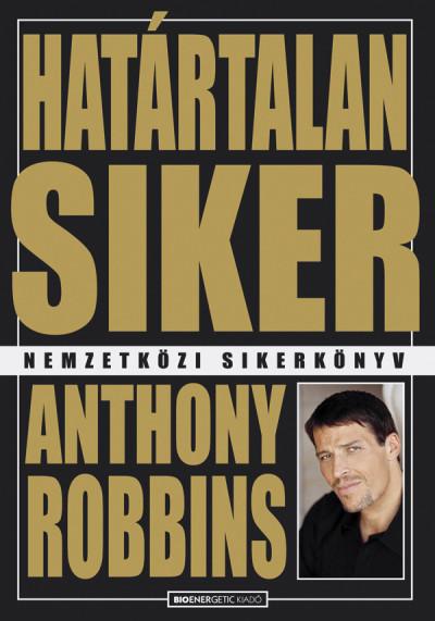 Anthony Robbins - Határtalan siker (Borító)