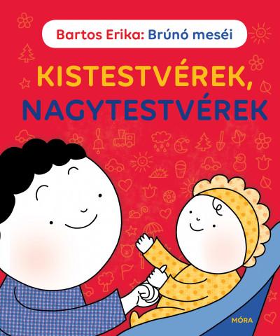 Bartos Erika - Kistestvérek, nagytestvérek (Borító)