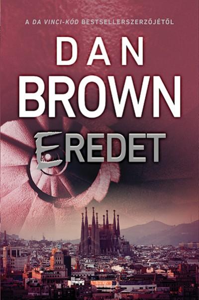 Dan Brown - Eredet (Borító)