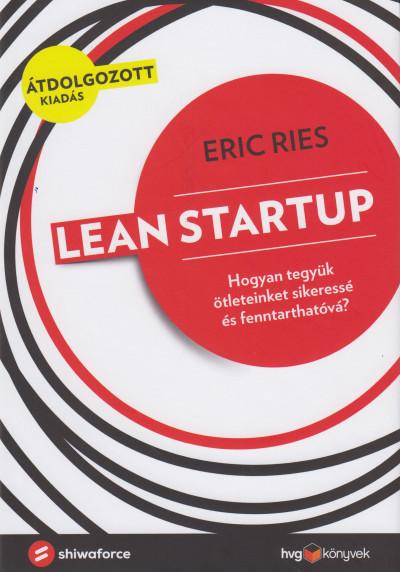 Eric Ries - Lean Startup (Borító)