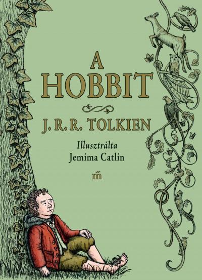 J. R. R. Tolkien - A hobbit (Borító)