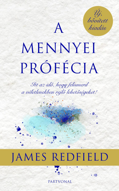 James Redfield - A mennyei prófécia (Borító)