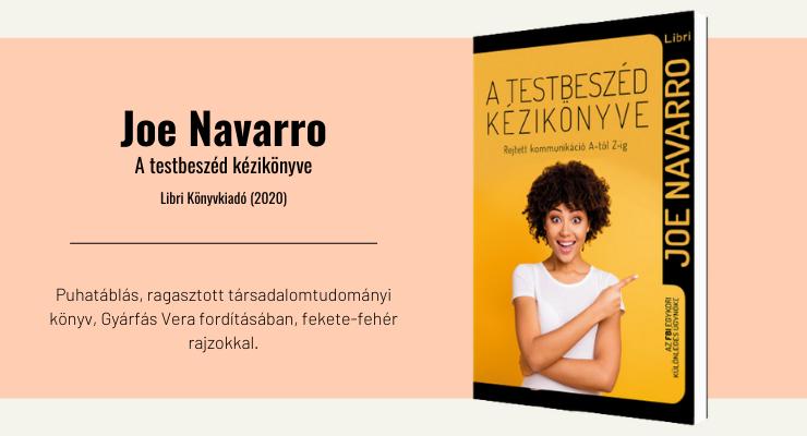 Joe Navarro - A testbeszéd kézikönyve