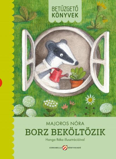 Majoros Nóra - Borz beköltözik (Borító)