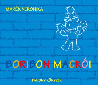 Marék Veronika - Boribon mackói (Borító)