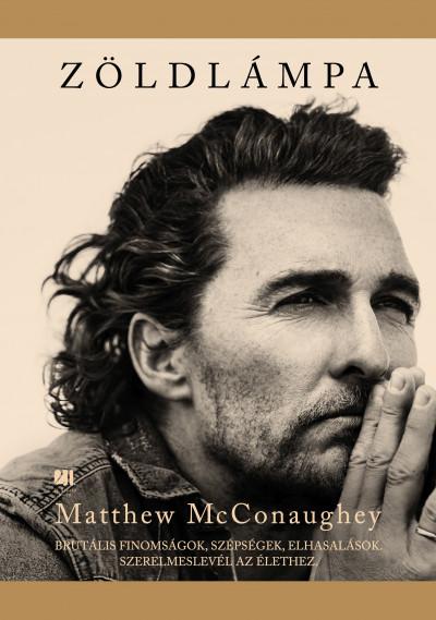 Matthew McConaughey - Zöldlámpa (Borító)