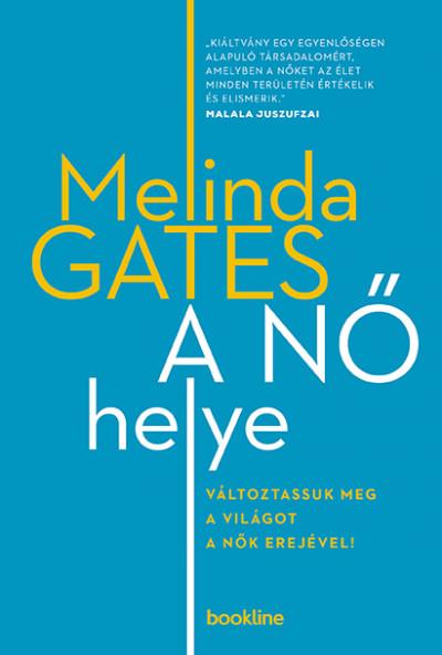Melinda Gates - A nő helye (Borító)