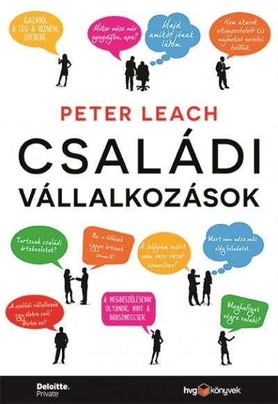 Peter Leach - Családi vállalkozások (Borító)