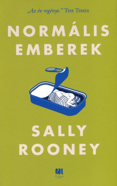 Sally Rooney - Normális emberek (Borító)