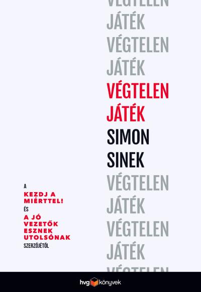 Simon Sinek - Végtelen játék (Borító)
