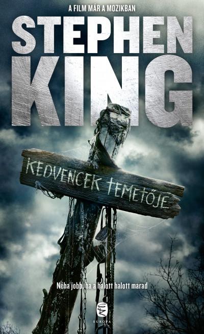 Stephen King - Kedvencek temetője (Borító)