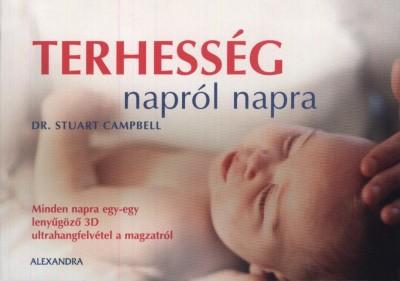 Stuart Campbell - Terhesség napról napra (Borító)