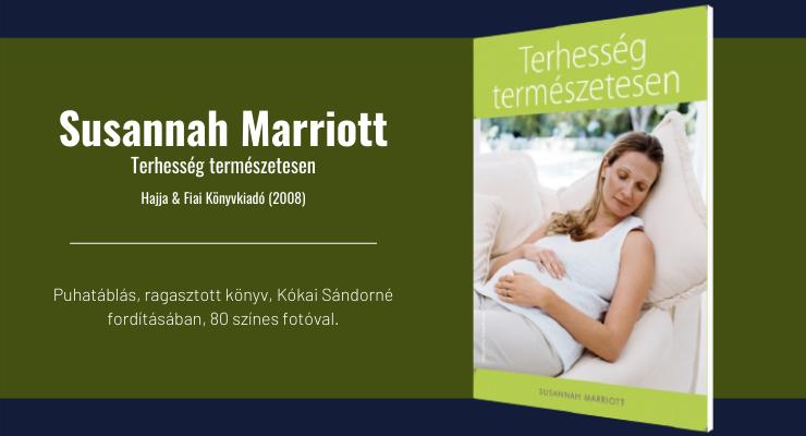 Susannah Marriott - Terhesség természetesen