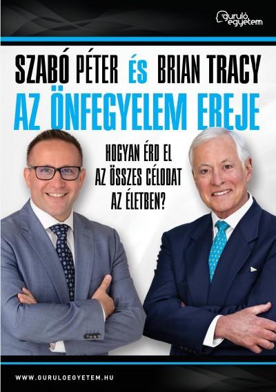 Szabó Péter, Brian Tracy - Az önfegyelem ereje (Borító)