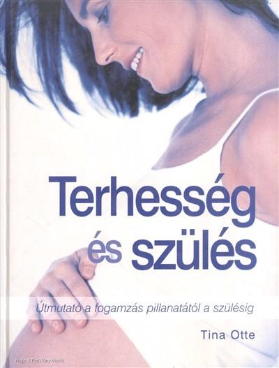 Tina Otte - Terhesség és szülés (Borító)