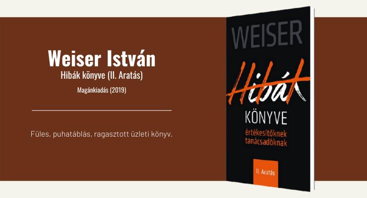 Weiser István - Hibák könyve (II. Aratás)
